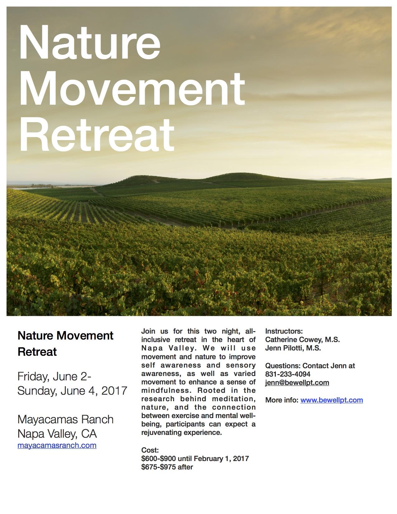 Nature Movement Retreat